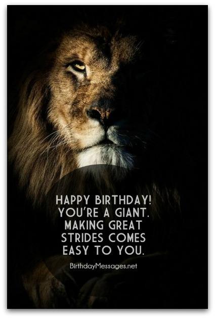 Inspirational Birthday Wishes - Inspirational Birthday Messages