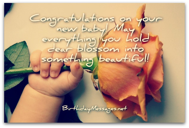 New Baby Wishes - Newborn Baby Card Messages