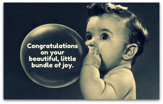 Newborn Baby Card Messages