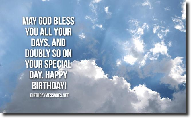 Religious Birthday Wishes - 60 Religious Birthday Messages