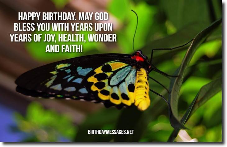 Religious Birthday Wishes - Religious Birthday Messages