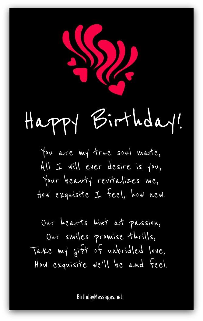 Romantic Birthday Poems - Page 2