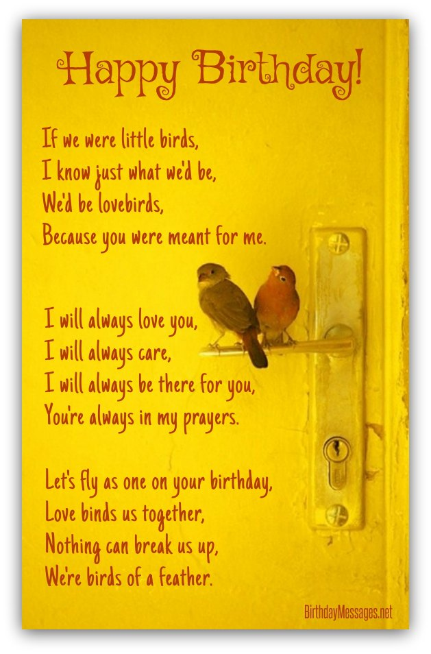 Remarkable Romantic Birthday Poems Page 2 Personalised Birthday Cards Veneteletsinfo