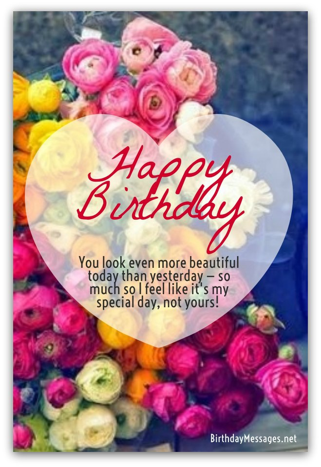 Romantic Birthday Wishes - Romantic Birthday Messages