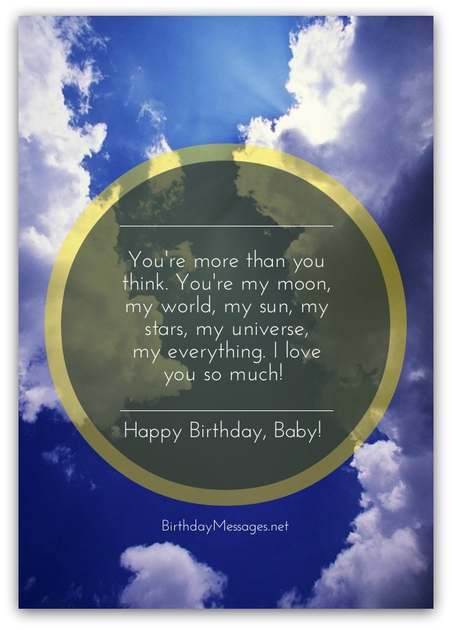 Romantic Birthday Wishes