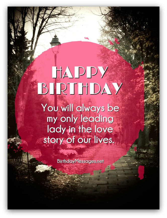 Romantic birthday wishes page 5 download birthday postcard m4hsunfo