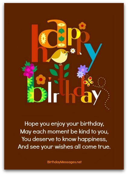 Download Free Birthday Postcard