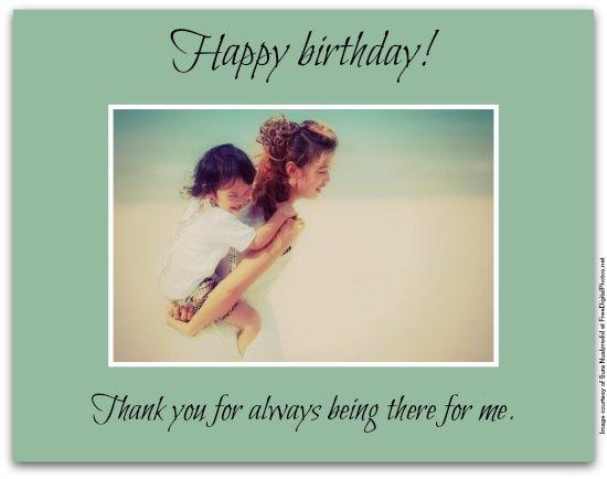 Sentimental Birthday Wishes