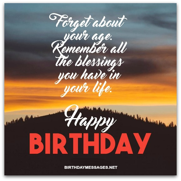 accept the past and embrace the future the best of life is yet to come happy birthday