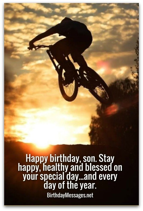 Son Birthday Wishes Unique Birthday Messages for Sons – Happy Birthday Greeting to Son