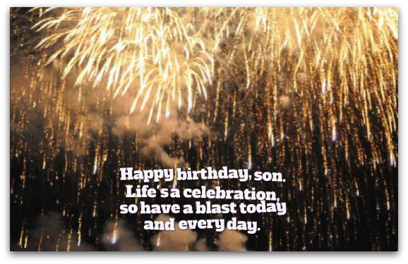 Son Birthday Wishes Unique Birthday Messages for Sons – Birthday Greeting for Son