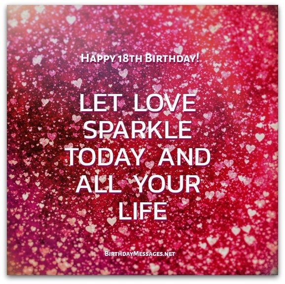18th birthday wishes birthday messages for 18 year olds download free birthday postcard bookmarktalkfo Images