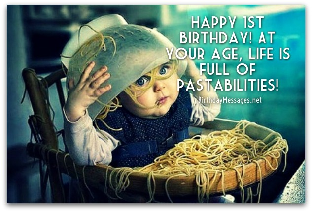 1st Birthday Wishes - Birthday Messages for 1 Year Olds