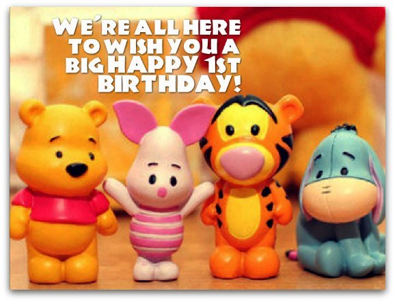 Birthday Wishes Birthday Messages for 1 Year Olds – Birthday Greetings for 1 Year Old