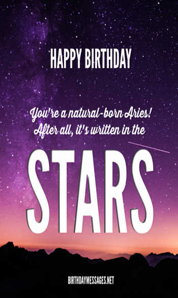 Aries Birthday Wishes: 240 Zodiac Birthday Wishes