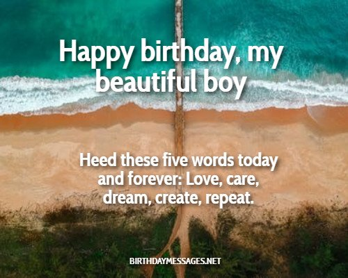 Birthday Images - eCards with Son Birthday Wishes