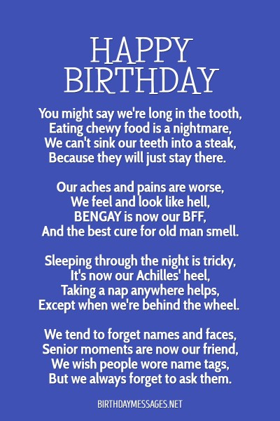 Birthday Poems - Hundreds of Unique Poems for Birthdays