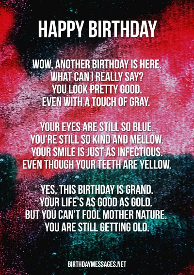 Birthday Poems - Poetry for Birthdays