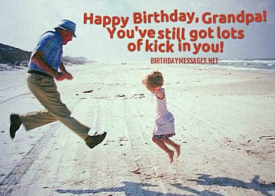 Birthday Wishes: Birthday Message for Grandfather