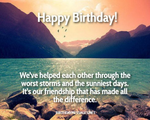Birthday Wishes: Birthday Message for Friend