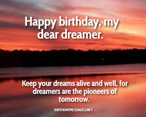 Birthday Wishes - Inspirational Birthday Message for Anyone