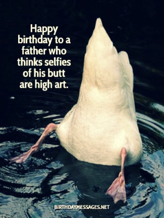 Birthday Images - Funny Birthday Wishes for Fathers