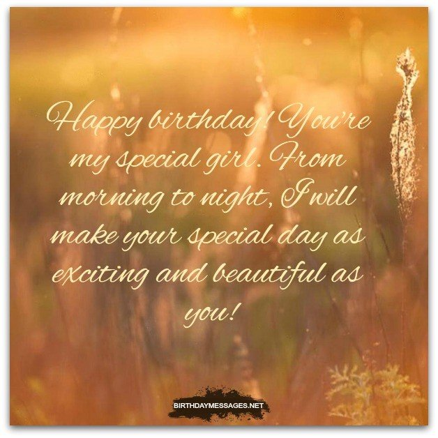 Girlfriend Birthday Wishes Romantic Birthday Messages