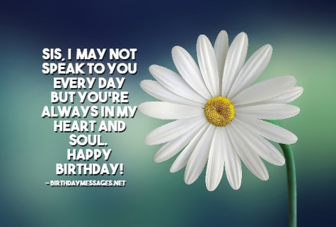 Sister Birthday Wishes - Birthday Messages & Images for Sisters