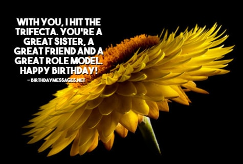 Sister Birthday Wishes - Inspirational Birthday Messages & Images for Sisters