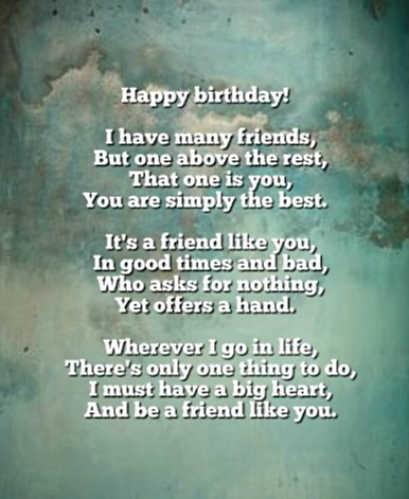 Birthday Poems - Original Poems for Birthdays
