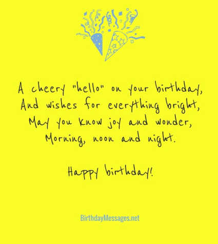 Birthday Poems - Happy Poems for Birthdays