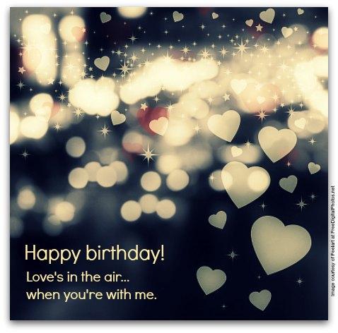 Birthday Wishes for Boyfriends