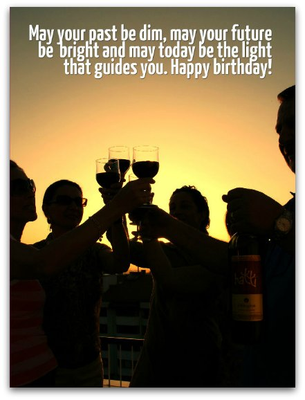 Clever Birthday Toasts - Birthday Messages for Toasts
