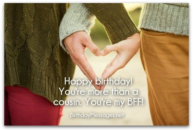 Birthday Wishes Male Cousin ~ Birthday wishes: birthday messages for cousins