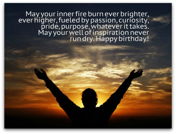 Inspirational Birthday Toasts - Birthday Messages