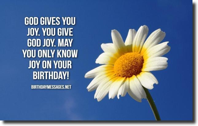 Religious Birthday Wishes 60 Religious Birthday Messages – Birthday Greetings Religious Message