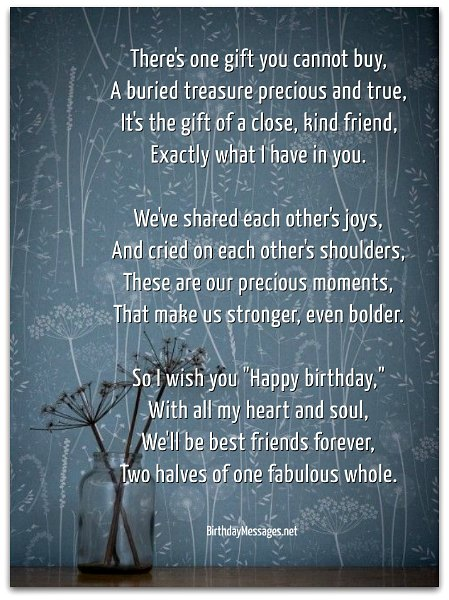 Sentimental Birthday Poems Page 2