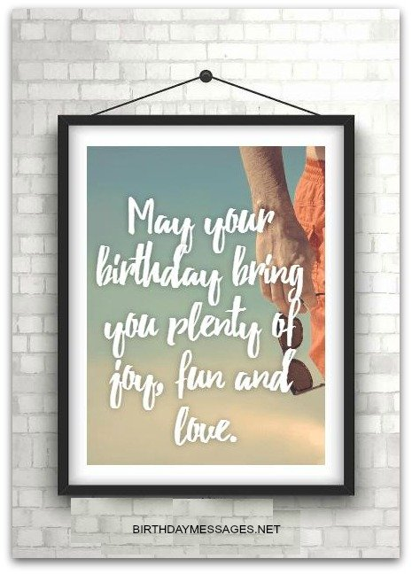 Birthday Wishes Best Short Birthday Messages – Short Birthday Greetings