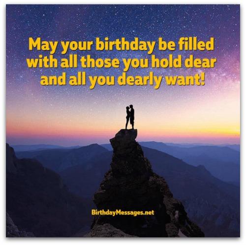 Short Birthday Wishes - Best Short Birthday Messages