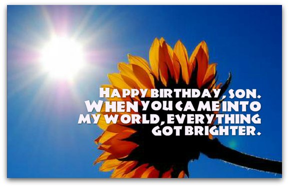 Birthday Wishes Unique Birthday Messages for Sons – Unique Happy Birthday Greetings